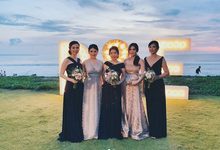 RONAL ERLIN WEDDING by bridestore indonesia