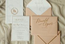 Ronald & Agnes by Meltiq Invitation