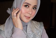 Makeup engagement for mrs. raja riska by Rose Makeupartist