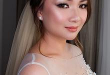 Makeup Bride for Mrs. Essy by Rose Makeupartist