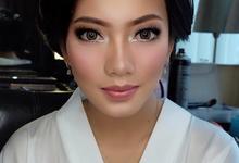 Makeup bride for mrs. Citra by Rose Makeupartist
