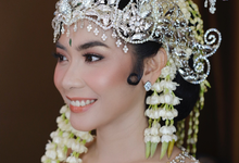 Makeup bride for ananda aulia by Rose Makeupartist