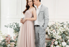 Fanny and Jeffry Prewedding by Roselle Atelier