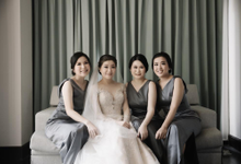 Wedding of Stephanie and Lungid by Roselle Atelier