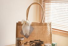 Jute Tote Bag - Aldy & Quincy by Rove Gift