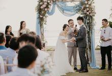 Roy & Lynette Wedding at Noku Beach House by AKSA Creative
