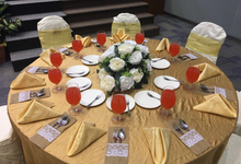 Church Wedding of Bernard & Michelle by Royal Catering Services Pte Ltd