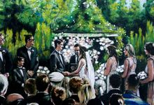 Live Wedding Art by TayloredArt