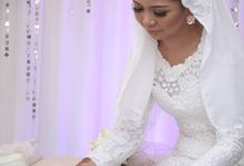 Wedding Make Up Abbyana by MakeupbyVino