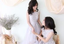 Sister Photoshoot by iLook ( Makeup & Couture )