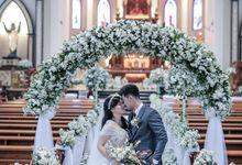 The Wedding of Rezha & Raquel by FROST Event Designer
