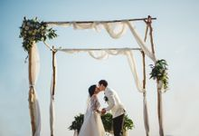 Tropical Rustic Wedding of Wesley & Laura by Silverdust Decoration