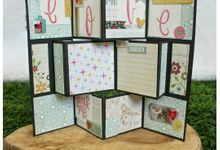 Scrapbook Cards and Album by TGAF (The Great Art Factory)