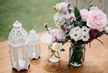Wedding decor by d'Oasis Florist & Decoration