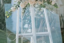 Wedding Decoration at Villa Phalosa by d'Oasis Florist & Decoration