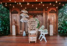 Rustic Decor at Jeeva Saba Villa by d'Oasis Florist & Decoration