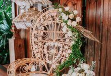 Rustic Decor at Jeeva Saba Villa by d'Oasis Florist & Decoration