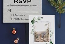 Wedding Stationery and Add-on Cards by 123WeddingCards