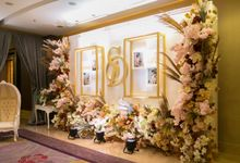 Entrance Area by Skenoo Hall Emporium Pluit by IKK Wedding