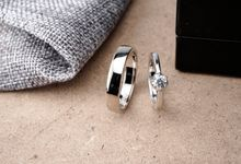 Platinum wedding ring by Jakarta Custom Jewellery