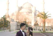 Casual Destination PreWedding at Istanbul by ALLUREWEDDINGS