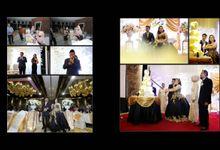 Black & Gold Wedding by Alevia Bali