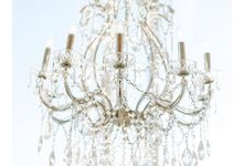 Dazzling Chandeliers by CMC EVENT RENTALS