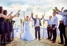 Koh Phangan - Anel and Ruandre by Phangan Weddings