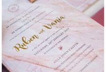 Invitation for Ruben & Vania by Soraksorai