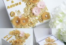 Ring box by Yoanamarrie   Headpiece & More