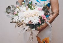 Yevita Wedding Bouquet by Floral Treats