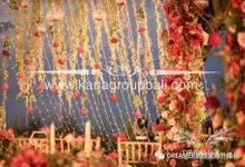 Red Maroon & Navy Blue Wedding theme by Bali Wedding Decoration