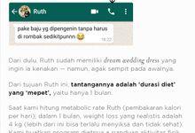 Ruth's Pre-Wedding Diet by Dapurfit