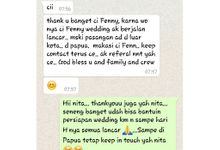 Testimony by Fenny Yang Wedding Planner