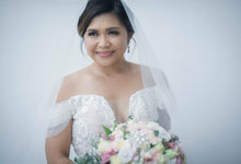Wedding ( Majo + Marvin ) by RYabes Professional Makeup Artistry