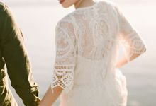 Synergy of Love - The Post-Wedding Session of Ryan and Marcellina by Donny Wu by Axioo