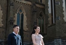 Reynold & Nadia Melbourne Prewedding by Hope Portraiture