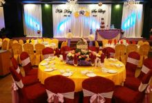 Stage Backdrop Design by Wedding And You