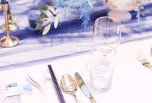 Modern Wedding Dinner by Modeste Design