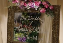 The Wedding of Andri & Merlin by PRIVATE WEDDING ORGANIZER
