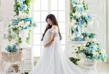 Maternity Gown for Lisa Yoe by Ellen Ang Bride