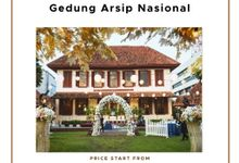 OUR VENUE - GEDUNG ARSIP NASIONAL by Alissha Bride
