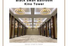 OUR VENUE - BLACK SWAN BALLROOM KINO TOWER by Alissha Bride