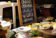 Stevy Eka Wedding by Loca Catering