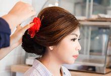 Trial Wedding Makeup by Rachel Liem by Rachel Liem Makeup