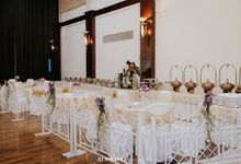 The Wedding of Citra & Alfi by Ros Catering Service