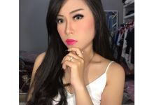Makeup for pretty Ms Elin by La'Bride Bridal