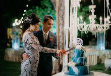 Felisa & Satria wedding by KAIA Cakes & Co.