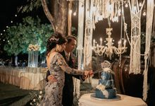 Felisa & Satria wedding by KAIA Cakes & Co.