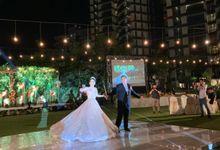David & Wywy Wedding by Golf Graha Famili